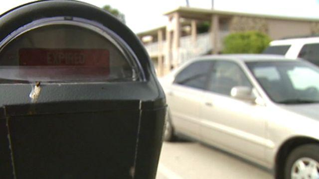 Pay parking meter from your smart phone