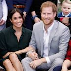 Meghan Markle and Prince Harry Send Birthday Message to Prince Louis Days Before Baby's Birth