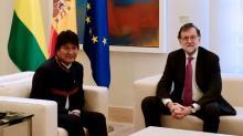 Evo Morales reforça interesse 'simbólico' da Bolívia em tesouro espanhol