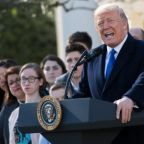 Trump hails anti-abortion measures in March for Life speech