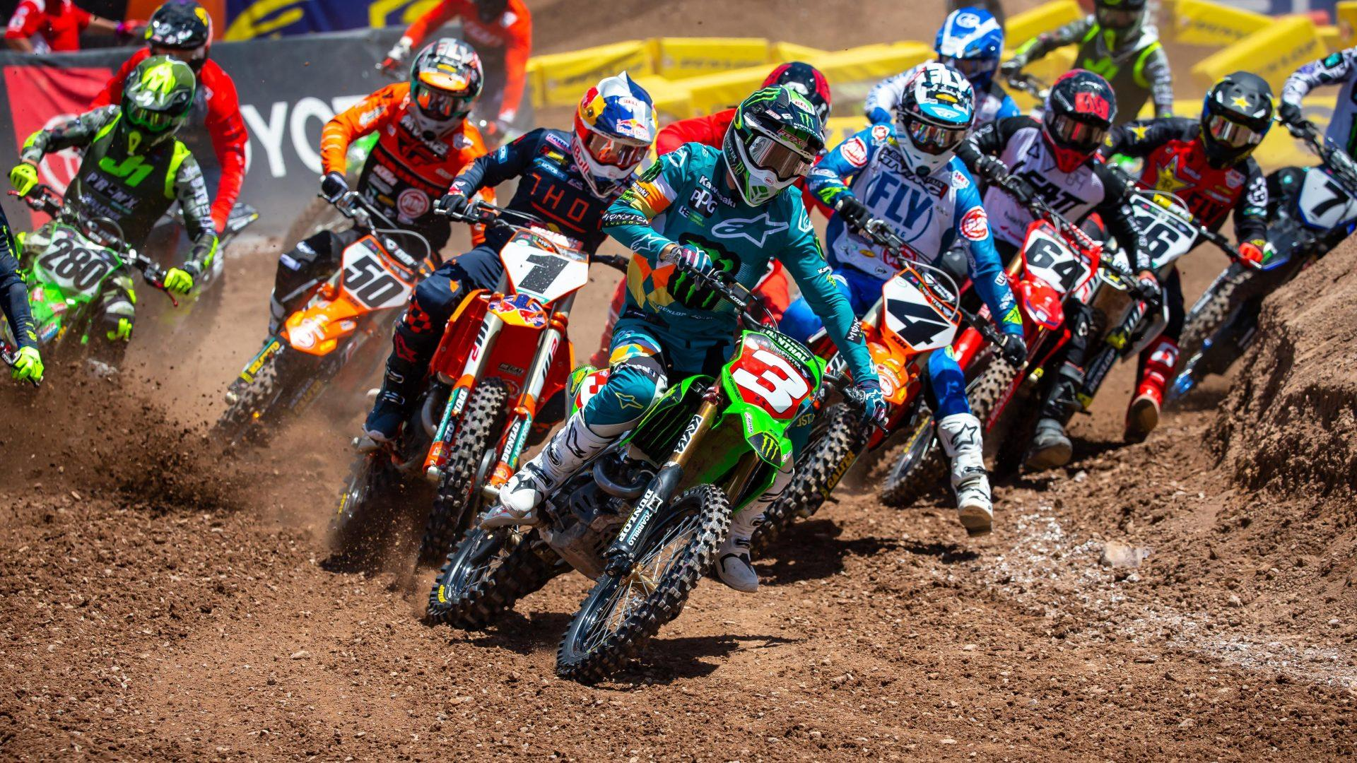 Today S Supercross Round 12 Race In Salt Lake City Start Time Tv And Info