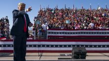 Trump rallies in Arizona