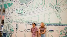 INTERVIEW: Mural artist Ripple Root's working relationship and how they've never had clashes