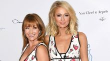 Paris Hilton and Jane Seymour Pose on the Red Carpet in Identical Dresses: Pics