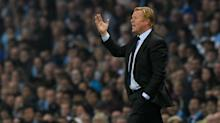 Ronald Koeman frustrated Everton couldn't hold on for victory at Manchester City