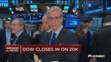 Dow closes in on 20K mark