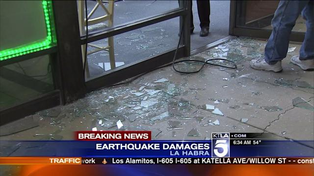 La Habra 5.1 Earthquake Causes Damages