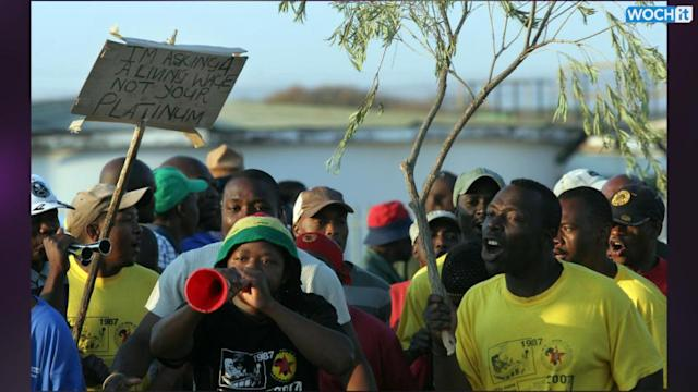 Workers Flee To Safe Houses On South Africa's Strike-hit Platinum Belt