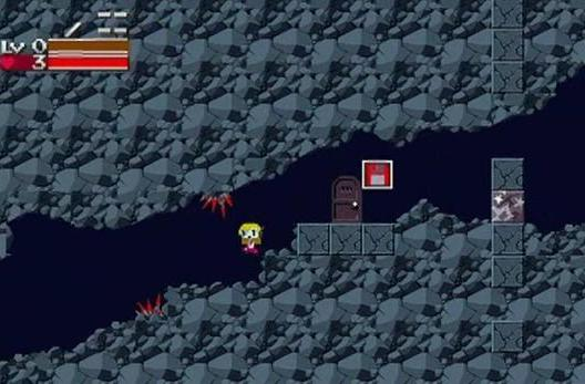 Cave Story includes playable Curly Brace