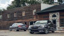 2020 Subaru Legacy vs. 2019 Honda Accord in Photos