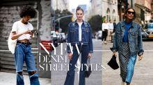 如何用人人都有的牛仔單品穿出強大時尚氣場?從 30 位 #NYFW 街拍達人身上偷師!