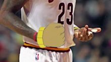 The Rockets poked fun at LeBron's weird use of the 'Arthur's Fist' meme