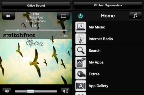 Logitech launches Squeezebox Controller app for Android phones and tablets