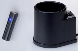 AAK's AA induction battery: recharges in a cup?