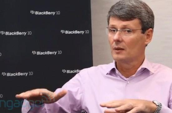 Thorsten Heins: tablets aren't a good business model, BlackBerry aiming to lead mobile computing in five years