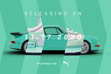 Porsche x PUMA聯名911 Turbo主題鞋款 搶先購買只有2.7秒的機會