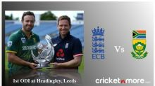 1st ODI: England won by 72 Runs