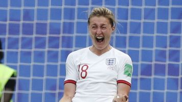 Quarters-bound England overpowers Cameroon