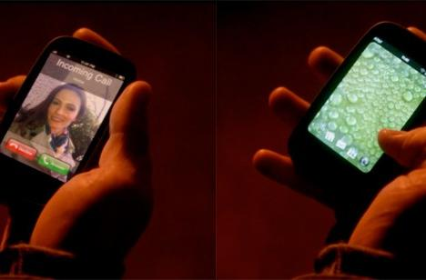 Screen Grabs: Palm Pre-iPhone hybrid appears on Grimm, doesn't look half bad