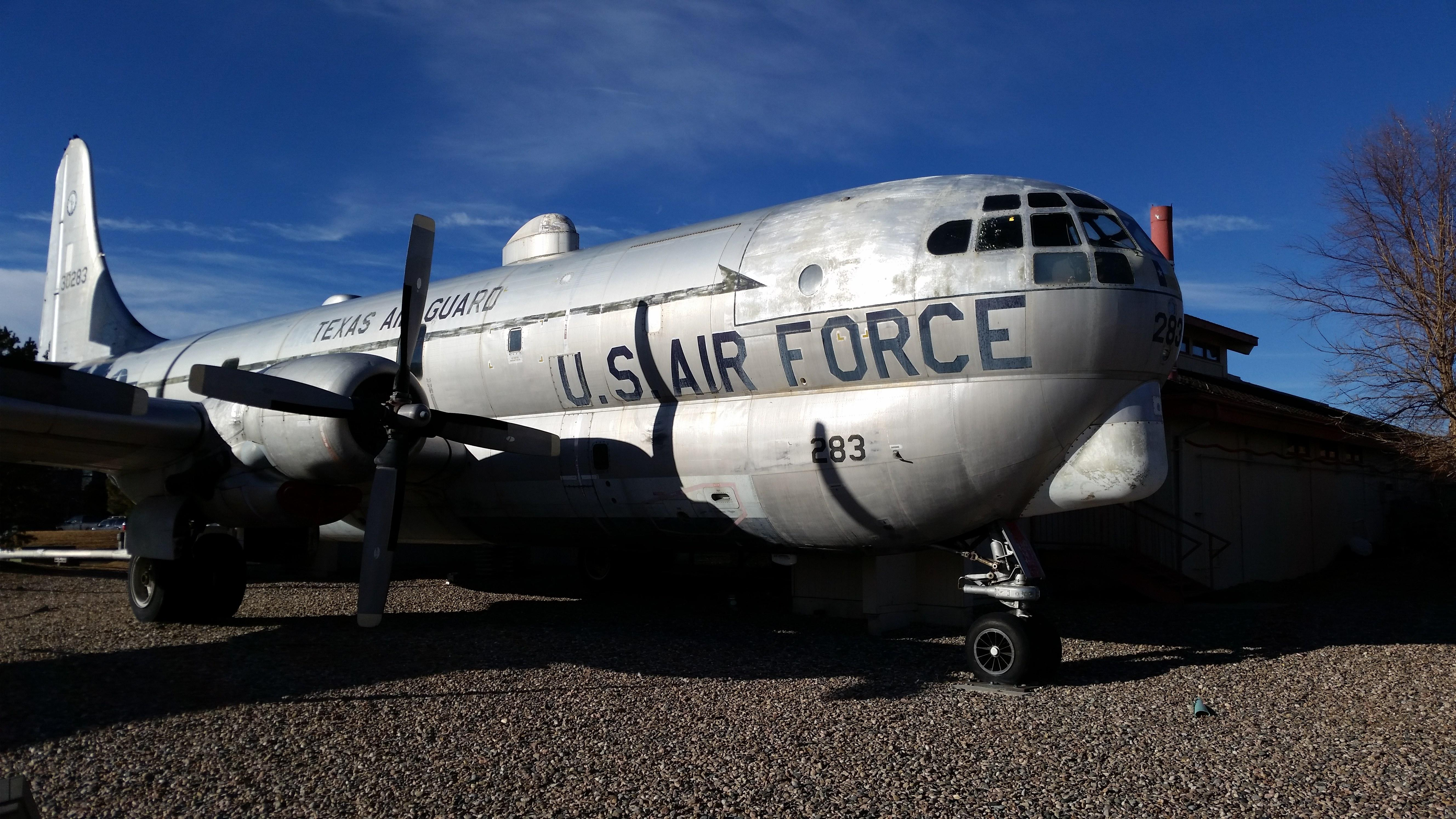 """Airplane food never tasted so good. Housed inside a KC-97 Boeing built in 1953, The Airplane Restaurant can seat up to 42 patrons for lunch or dinner. Having traveled the world, the Boeing is now permanently wheels-down in Colorado Springs and serving up some American favorites. <a href=""""http://www.solosrestaurant.com/"""" rel=""""nofollow noopener"""" target=""""_blank"""" data-ylk=""""slk:solosrestaurant.com"""" class=""""link rapid-noclick-resp"""">solosrestaurant.com</a>"""