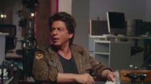 What is Shah Rukh Khan up to after playing a coach, a robot and his own fan. Watch video.