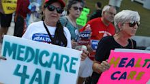 Protesters across the country oppose GOP's health care plan