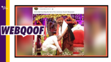 Amit Shah Touching Nithyananda's Feet? Nope, Look Again