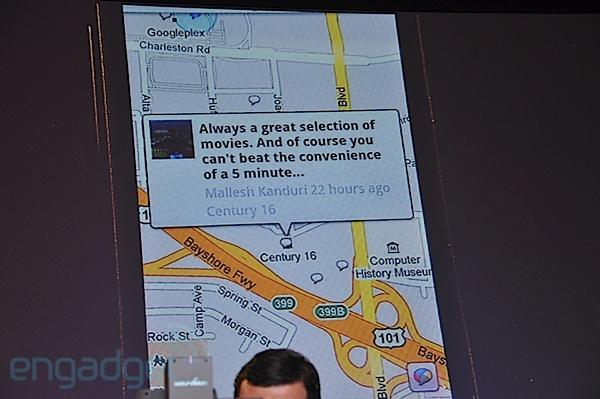 Google Buzz takes mobile location services to the next level