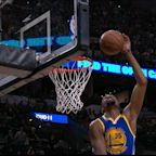 Kevin Durant blocked one Dejounte Murray shot twice