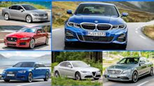 Die Konkurrenten des BMW 3er