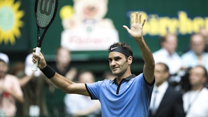 Roger Federer joins 'Big Four' rivals Murray, Djokovic and Nadal in top-four seeding for Wimbledon