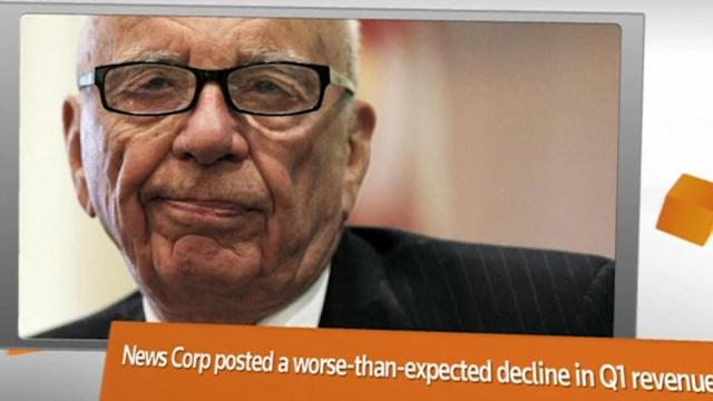 FACTBOX: Rupert Murdoch's New Corp. earnings fall short