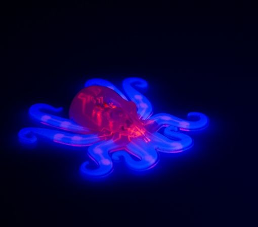 Soft, Rubbery 'Octobot' Can Move Without Batteries