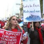 Chicago Teachers Strike: Thousands of teachers take to picket lines for 2nd day Friday; CPS classes remain canceled