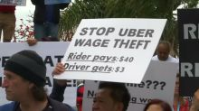 California senate passes bill giving Uber drivers stronger rights