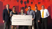 Voya Honors Phoenix Arizona's Desert Sands Middle School with Third-Place Unsung Heroes Program Award