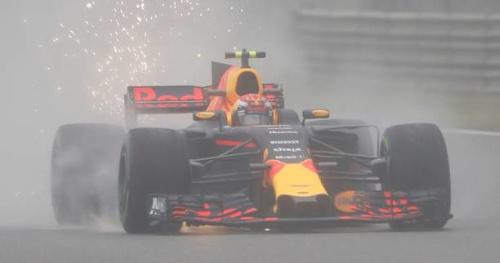 F1 - GP de Chine - Max Verstappen domine une première séance d'essais libres écourtée