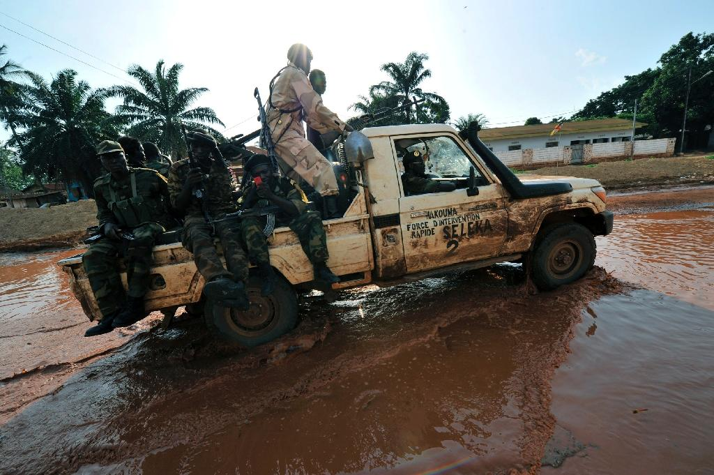 Seleka rebels are one of the militia groups that CAR forest rangers have to deal with (AFP Photo/SIA KAMBOU)