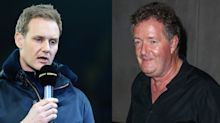 BBC's Dan Walker says 'there's a decent bloke fighting to get out' of rival Piers Morgan