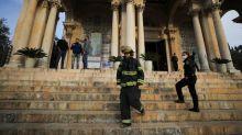 Jerusalem church suffers damage in arson near Garden of Gethsemane