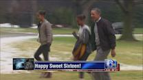 VIDEO: Malia Obama turns sweet 16