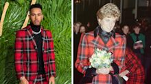 Lewis Hamilton mocked for dressing exactly like Princess Diana