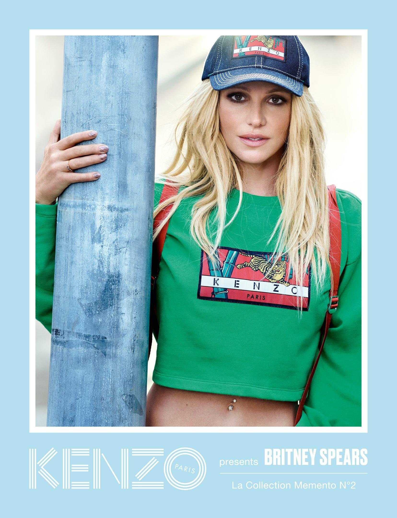 984df7a8df1 Britney Spears Landed a Kenzo Campaign