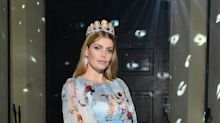 Princess Diana's Niece Walked Dolce & Gabbana Show