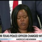 Former Texas police officer out on bail after being charged with woman's murder