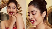 Janhvi Kapoor look Diva in Red Gown at Zee Cine Awards: Recreate Subtle Yet Bold Look!