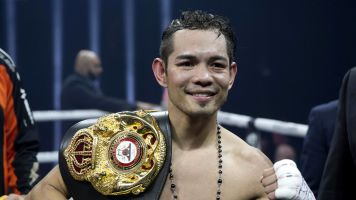 Donaire injures Burnett, wins WBA title