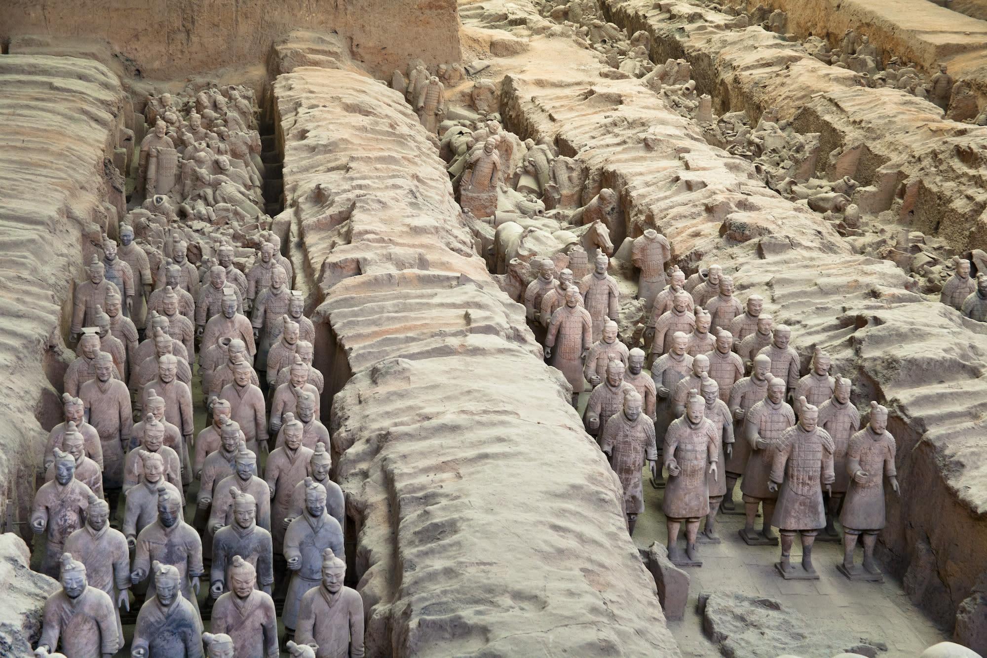 Archäologie: Das sind die 10 spektakulärsten Ausgrabungen ...