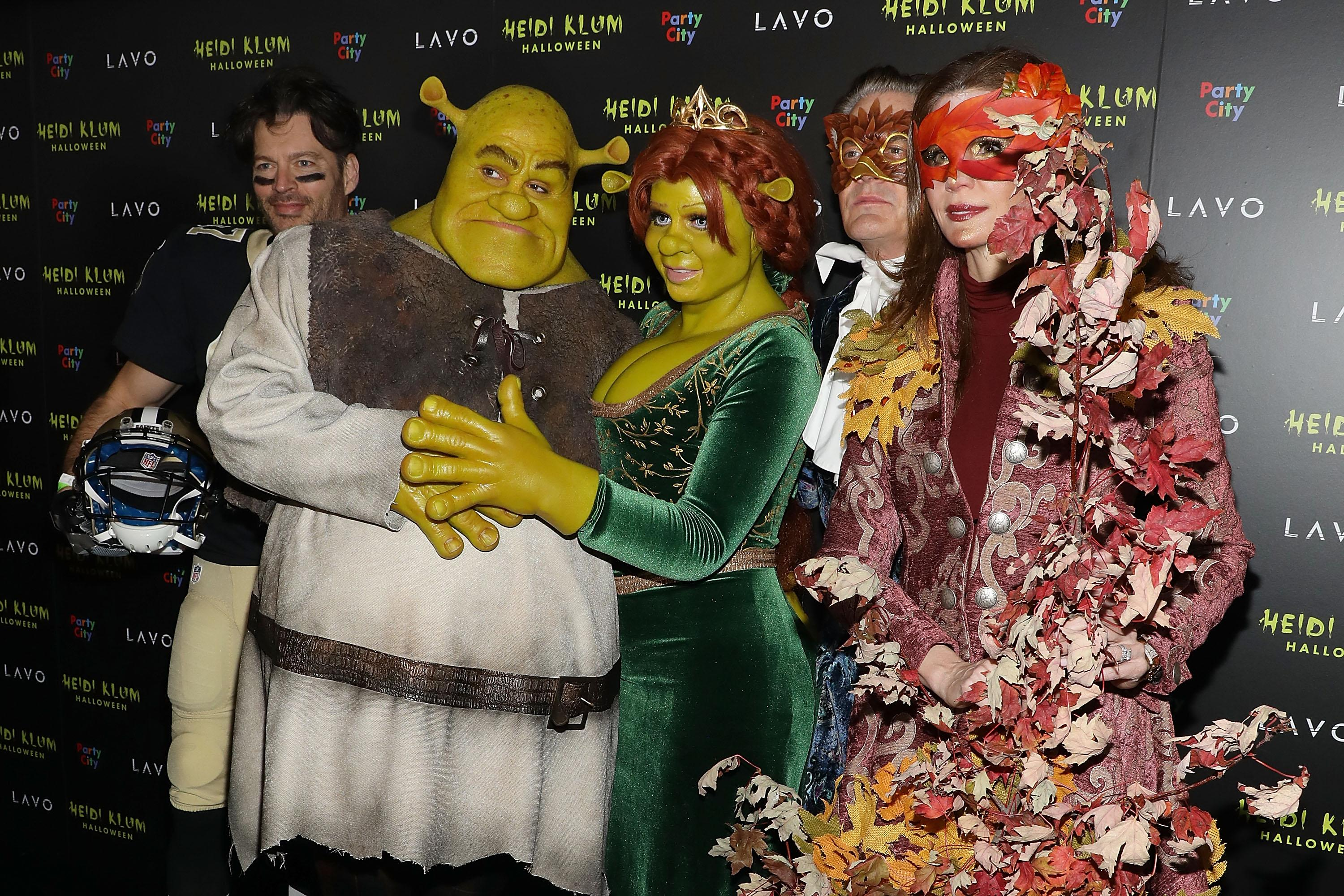 The Most Over-the-Top Costumes From Heidi Klum's Crazy Halloween Party