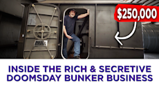 INSIDE THE RICH & SECRETIVE DOOMSDAY BUNKER BUSINESS